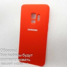 Чехол Silicone case для Samsung Galaxy A10, красный