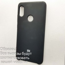 Чехол Silicone case Huawei P 30  (# 18), черный