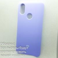 Чехол Silicone case для Iphone Xs (# 41 ), фиолетовый