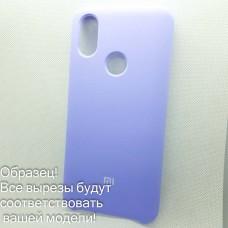 Чехол Silicone case Xiaomi Redmi 6/6A    (# 41), фиолетовый