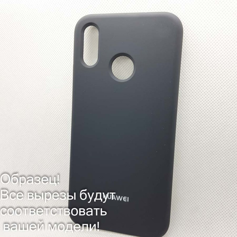 Чехол Silicone case Xiaomi Redmi 5A   (# 15), серый