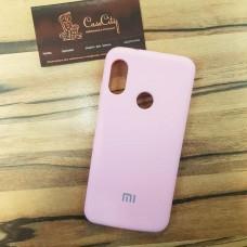 Чехол Silicone case для Xiaomi Redmi 7, розовый