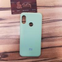 Чехол Silicone case для Xiaomi Redmi 7, зеленый