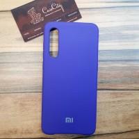 Чехол Silicone case для Xiaomi Mi 9, фиолетовый