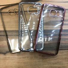 Силиконовые чехлы для Samsung Galaxy S6 edge (G925) прозрачные