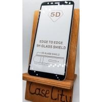 Защитное стекло для Samsung Galaxy J6, полноэкранное черное