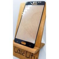 Защитное стекло для Samsung Galaxy J5 (2016) J510, полноэкранное черное