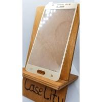 Защитное стекло для Samsung Galaxy J5 (2016) J510, полноэкранное золотое