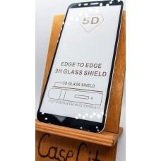 Защитное стекло для Samsung Galaxy J4 Plus (J415), полноэкранное черное Full Glue