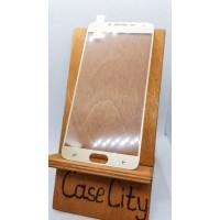 Защитное стекло для Samsung Galaxy J4, полноэкранное золотое