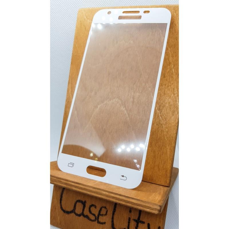 Защитное стекло full screen для Samsung Galaxy J3 2017 J330 белое