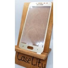 Защитное стекло для Samsung Galaxy J2 (2018), полноэкранное золотое