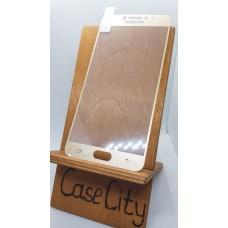 Защитное стекло для Samsung Galaxy C7 C7000,полноэкранное золотое