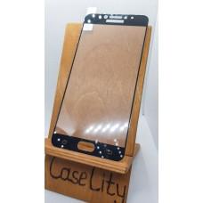 Защитное стекло для Samsung Galaxy C7 C7000, полноэкранное черное