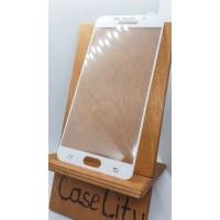 Защитное стекло для Samsung Galaxy A7 2016 [A710F] Full screen белое