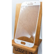 Защитное стекло для Samsung Galaxy A5 (2017) A520, полноэкранное белое