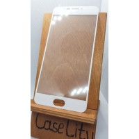 Защитное стекло для MEIZU MX6 M3 Note, полноэкранное белое