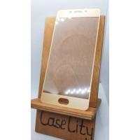 Защитное стекло для MEIZU M6 Note, полноэкранное золотое