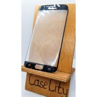 Защитное стекло для Samsung Galaxy S6 edge (G925),полноэкранное черное