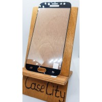 Защитное стекло для Samsung Galaxy J7 (2017) J730, полноэкранное черное