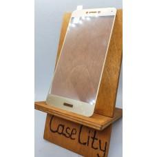 Защитное стекло для Huawei/Honor P8 Lite , полноэкранное  золотое