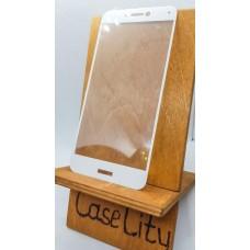 Защитное стекло для Huawei/Honor P8 Lite , полноэкранное  белое