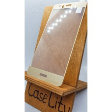 Защитное стекло для Huawei/Honor P10 Lite, полноэкранное  золотое