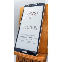 Защитное стекло для Huawei/Honor P Smart полноэкранное full glue черное