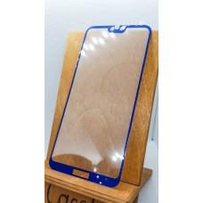 Защитное стекло для Huawei/Honor Honor 10 Lite/Honor 9i, полноэкранное  синее