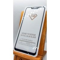Защитное стекло для Huawei/Honor P Smart Plus полноэкранное full glue черное