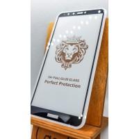Защитное стекло для Huawei/Honor Y9 2018 полноэкранное full glue черное