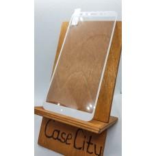 Защитное стекло для Xiaomi Mi A2 (Mi 6X) полноэкранное белое
