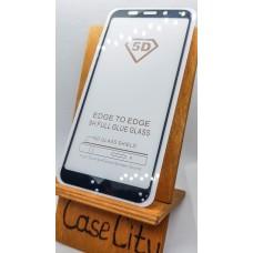 Защитное стекло для Xiaomi Redmi 5 Plus,, полноэкранное черное Full Glue