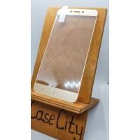 Защитное стекло для Xiaomi Redmi 4X, полноэкранное золотое