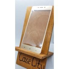 Защитное стекло для Xiaomi Redmi 4/ Redmi 4 Pro/Redmi 4 Prime, полноэкранное золотое
