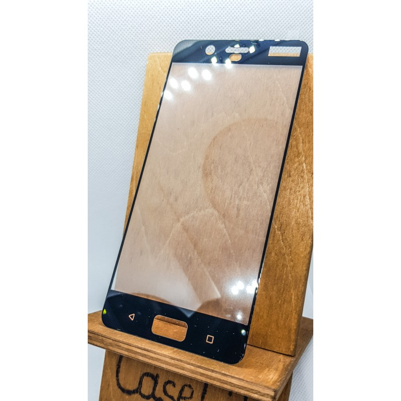Защитное стекло для Nokia 8 полноэкранное  черное