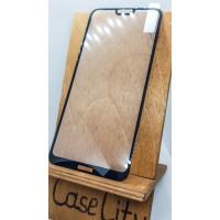 Защитное стекло для Nokia 6.1 Plus полноэкранное  черное