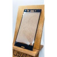Защитное стекло для Sony Xperia XZ1 Compact полноэкранное черное