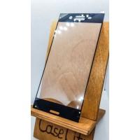 Защитное стекло для Sony Xperia XZ Premium полноэкранное черное