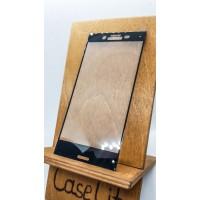 Защитное стекло для Sony Xperia X Compact полноэкранное черное