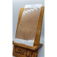 Защитное стекло для Sony Xperia XA1 Plus полноэкранное белое